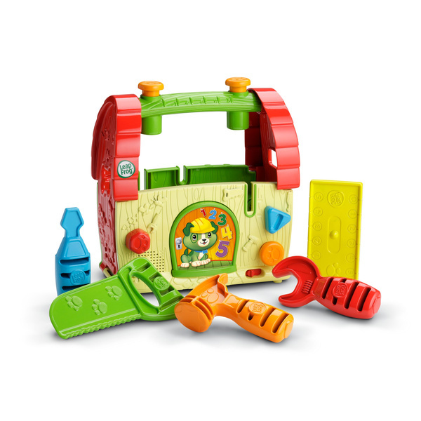 【美國 LeapFrog 跳跳蛙】Scout 探索工具箱 (Scout's Build & Discover Tool Set)